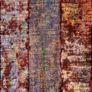 Papier Peint Ecorce De Rouille