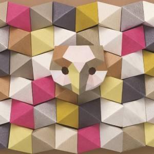 Papier Peint Chrome Origami