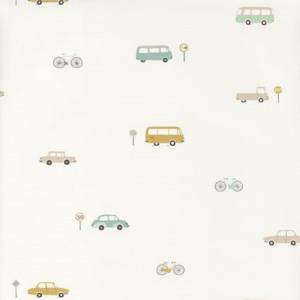 Papier Peint Happy Dreams Vintage Cars
