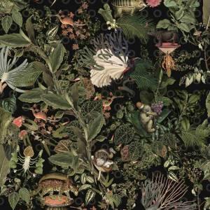Papier Peint Menagerie Of Extinct Animals