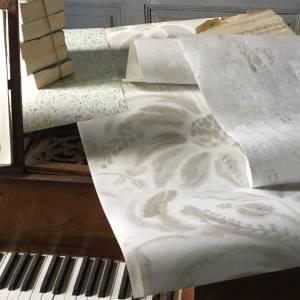 Papier Peint Angelique Damask