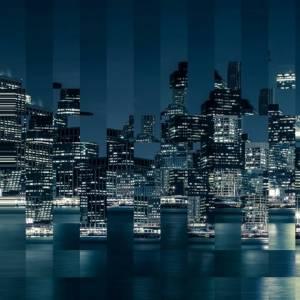 Panoramique Big Apple Squares