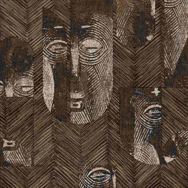 Papier Peint Mask