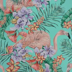 Papier peint Flamingo Club
