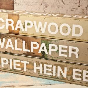 Papier Peint Scrapwood
